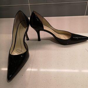 Shoes - Black patent heel